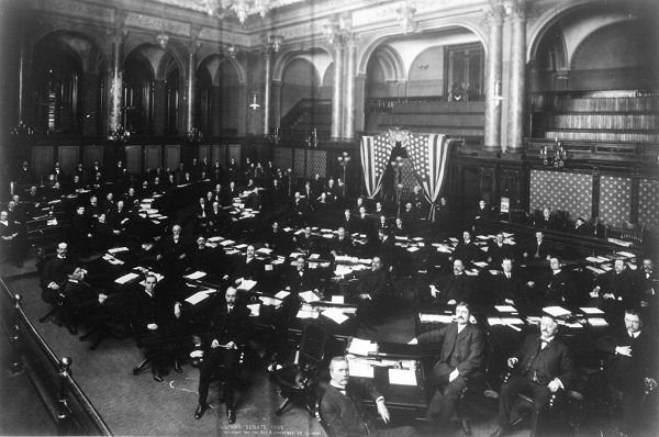 Illinois Statehouse The Senate Chamber