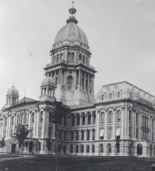 Exterior Photos Of The Illinois Statehouse